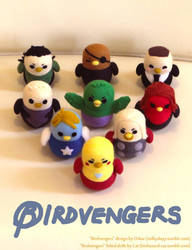 The Birdvengers by cat-cat