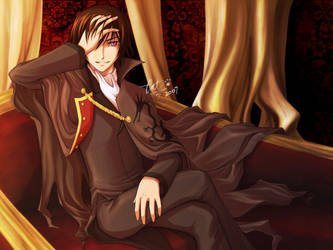 Lelouch - The Black Prince by cat-cat