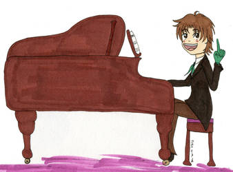 At The Piano by 1863project