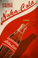 Nuka Cola Poster by LaggyCreations