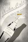 Nuka Cola Quartz Advertisement by LaggyCreations