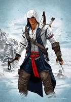 Connor Ratonhnhake:ton Kenway (Frontier 1775) by dimitrosw
