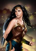 Wonder Woman (Gal Gadot) by dimitrosw