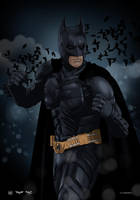 Christian Bale - The Dark Knight by dimitrosw