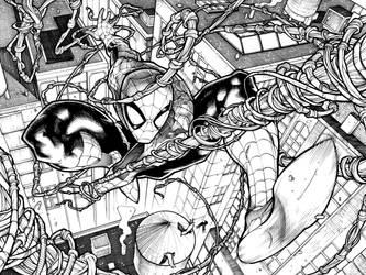 Amazing SpiderMan by Frisbeegod