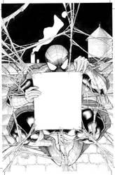 Spider-Man variant cover by Frisbeegod