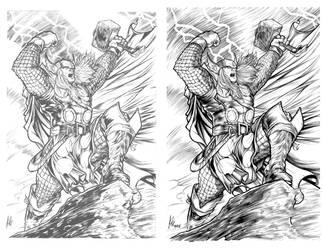 Elvin Hernandez Thor by Frisbeegod