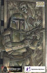 2014 Star Wars Day Print by Frisbeegod