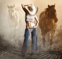 Ranch Girl by Kartoffel83