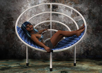 Limary on Tube Chair by Whazizname