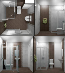 Bathroom Project 438 by spybg