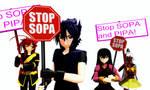Stop SOPA and PIPA by RaikuHoshigami