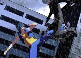 Raiku vs Shoukai by RaikuHoshigami