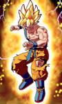 Namek Super Saiyan Goku by RaikuHoshigami