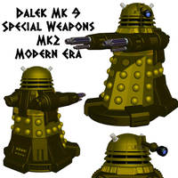 Dalek: Special Weapons Type II by Librarian-bot