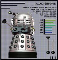 NDP - Dalek Emperor by Librarian-bot