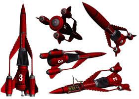 Thunderbird 3 by Librarian-bot
