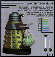 NDP - Dalek Hatchery Guard by Librarian-bot