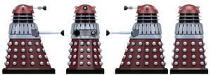 Empire Supreme Controller Dalek by Librarian-bot