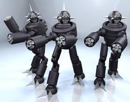 Killer Robots! by Librarian-bot