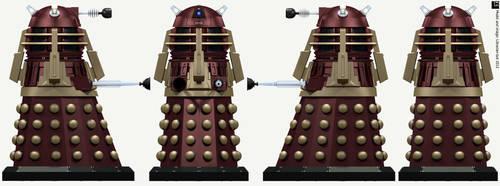 Post-Time War Supreme Dalek by Librarian-bot