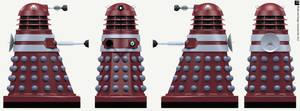 Invasion Dalek Pilot by Librarian-bot