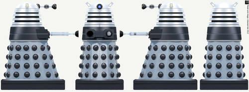 New Paradigm Dalek Supreme by Librarian-bot