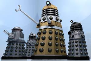 Hive Daleks by Librarian-bot