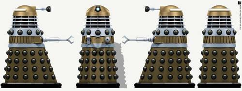 Hive Dalek Supreme by Librarian-bot