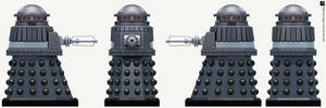 Hive Special Weapons Dalek by Librarian-bot