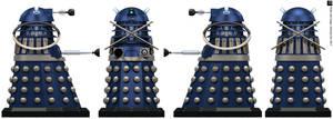 Time War Dalek Time Controller by Librarian-bot