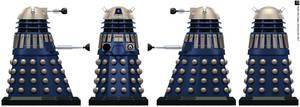 Time War Eternity Circle Dalek by Librarian-bot