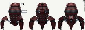 Skaro Degradation Spider Dalek by Librarian-bot