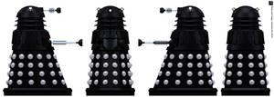Space Dalek Supreme by Librarian-bot