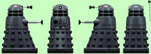 Arcade Dalek by Librarian-bot