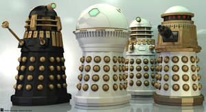 Imperial Daleks by Librarian-bot
