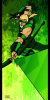 Green Arrow by lone-wolf-boudin