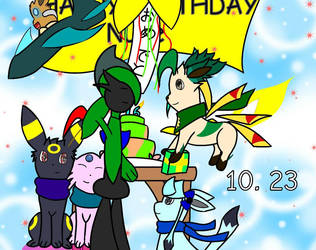 10. 23 || Birthday by NuclearGallade25