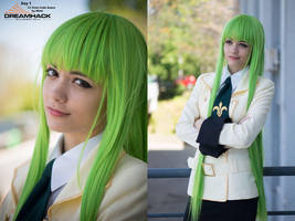 C.C. from Code Geass by MMM0Mimi