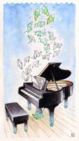 Piano Dream by bleuphoria