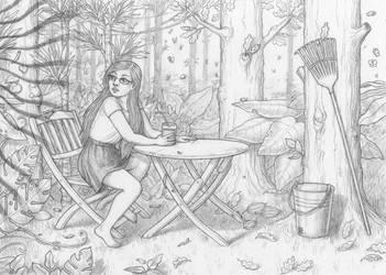 Jungle Garden Dream by bleuphoria