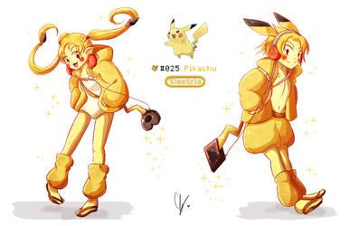 025. Pikachu by iingo