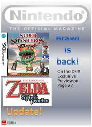 Nintendo SSBB Mock Cover by jamesdude55