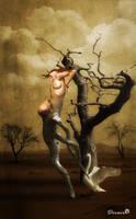 Leda and the swan by dilarosa