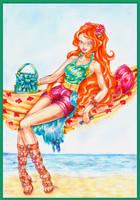 Bloom Summer Retro by Verbeley