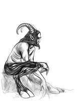 satyr by Izabella
