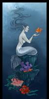 Yay a mermaid. by Izabella
