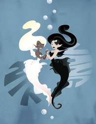 yin yang by Izabella