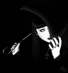 Mana and Umbrella by Izabella