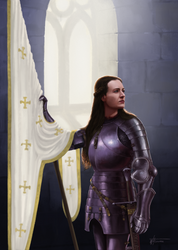 Jeanne D'Arc by woutart